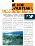 The Mae Moh Plant Review With EGAT