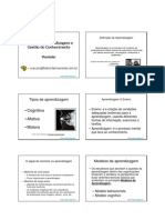 Mod Aprend Gestao Conhec - Aula_Revisão