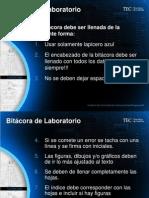 Bitacora de Laboratorio