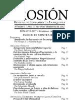 Revista Erosión I