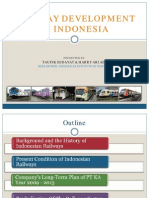 Railway Development in Indonesia