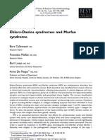 Sindrome Msrfan y Ehlers Danlos