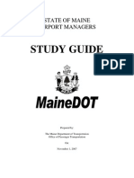 Airport Managers Study Guide
