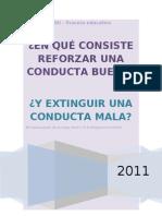 Reforzar+Una+Conducta+Buena