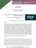 o compartilhamento de Conhecimento no Desenvolvimento da Atividade Apícola em organizações de produtores