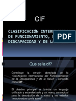 Clasificación internacional de funcionamiento, de la discapacidad