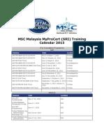 MSC Malaysia MyProCert