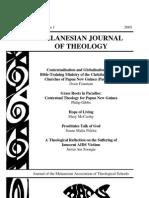 Melanesian Journal of Theology