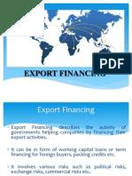 Export Financing (Final)