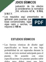 CLASE NO 5. ESTUDIOS SÍSMICOS