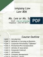 Company Lecture #1