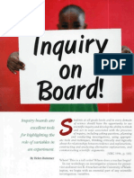 inquiry on the board