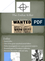 (Psychology) Zodiac Killer