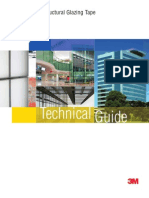 3M- VHB- Structural Glazing Tapes Technical Guide