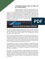 ASCA Formation – ESSR