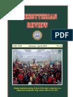 Presbyterian Review - January_April, 2013