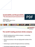 Presentation_Stephane Gripon - Diageo