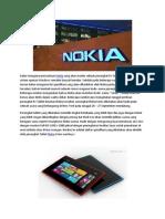 Nokia Sirius Pesaing Baru Apple iPad 4