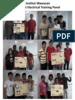 Institut Wawasan Student Electrical Training Panel