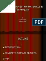 CONCRETE PROTECTION MATERIALS & TECHNIQUES.ppt