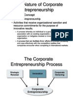 Corprate Entrepreneurship