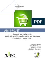 Projet Master Materiaux Emballage
