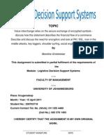 LDSS Assignment 200703718