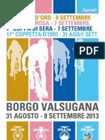 Libretto Coppa d'Oro 2013 Borgo Valsugana