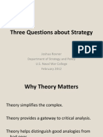 Rovner Three Questions About Strategy Bogota Feb2012 SCRUBBED