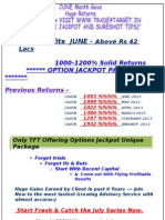 Weekly Perfirance 20 July