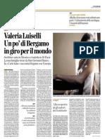 Luiselli intervista – Eco Di Bergamo