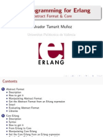 Metaprogramming for Erlang. Abstract Format & Core