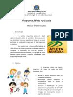 Manual Atleta Na Escola 2013