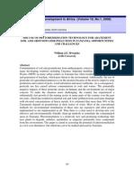 Use of Phytoremediation