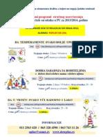 Akreditovani Programi Strucnog Usavrsavanja Za PU u 2013-2014