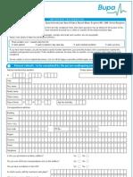 Form bupa international pdf claim
