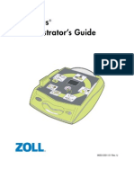 Zoll AED Plus Automated External Defribillator Administrators Guide