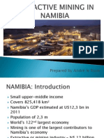 Extractive Mining in Namibia