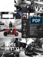 Vectrix VX Series Product Brochure 2013