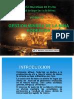 Gestion Minera de Poderosa