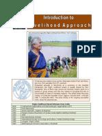 Introduction to Livelihood Framework