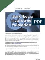 Bank Negara Invents a New Violation