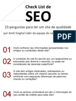 Checklist Deseo