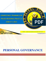 Personal Governance