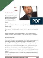 Lettre Ouverte de M. Frantz Duval au Conseil d'Administration d' EPower - 27 août 2013
