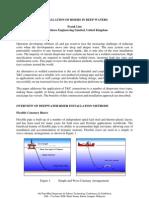 Deepwater Riser Installation