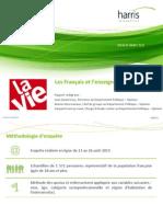 Rapport HI- Les Français et l'enseignement catholique (La Vie)