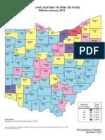 Sales Tax Map Color