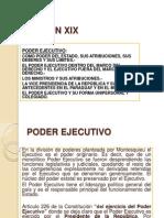 LECCIÓN 19 y 20. Ejecutivo y Legislativo