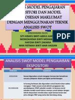 Analisis Model Pengajaran Ekspositori Dan Model Pemprosesan Maklumat